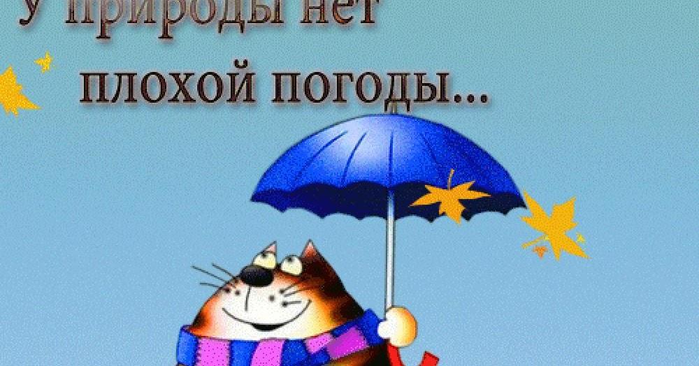 Картинки днем, у погоды нет плохой погоды картинки анимация