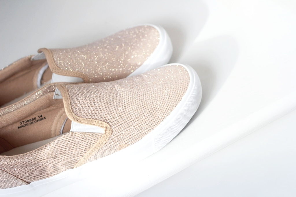 rose gold trainers, spring shoes, rose
