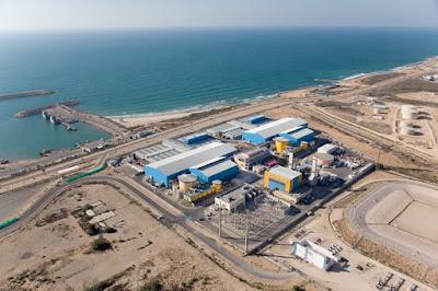 Em Israel, 80% dos recursos hídricos provêm do mar