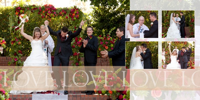 marriage ceremony North Ranch Country Club wedding - wedding album - San Luis Obispo wedding photographer - Studio 101 West, Atascadero CA