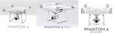 Perbedaan Drone DJI Phantom 4 Biasa Professional dan Advanced - OmahDrones