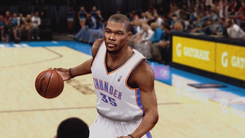 NBA 2K14 Realistic Kevin Durant Face Mod