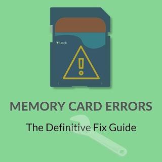 Cara Jitu Mengatasi Berbagai Macam Error Kartu Memory SD Card