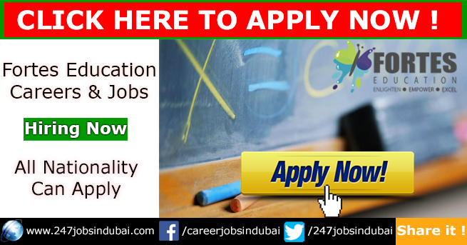 Jobs in UAE at Fortes Education and Careers