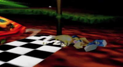 Donkey Kong 64 Rabbit Rodney the Hare sleeping zzz
