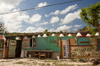 Jamaica roadside shop