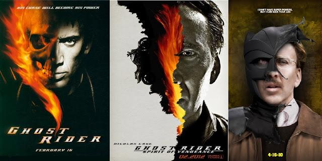 Nicolas Cage - Wszystkie komiksowe role - Ghost Rider, Kick Ass, Superman,
