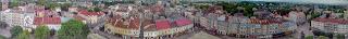 Дрогобич. Панорама Дрогобича з годинникової вежі