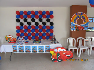 fiestas tematicas cars