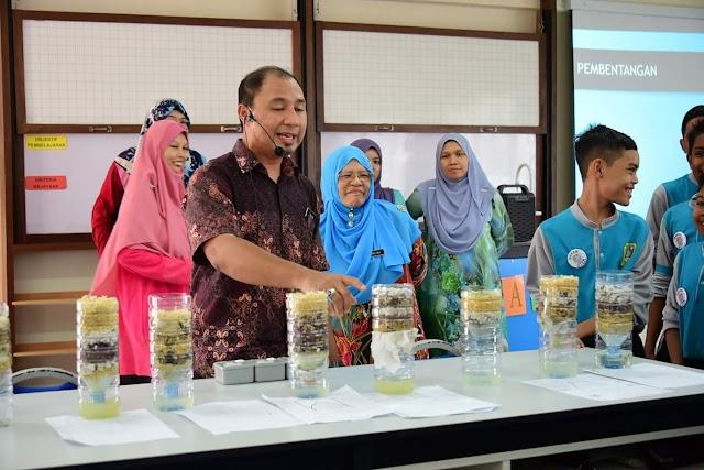 Bengkel PBL STEM di SMK Bandar Puteri Jaya