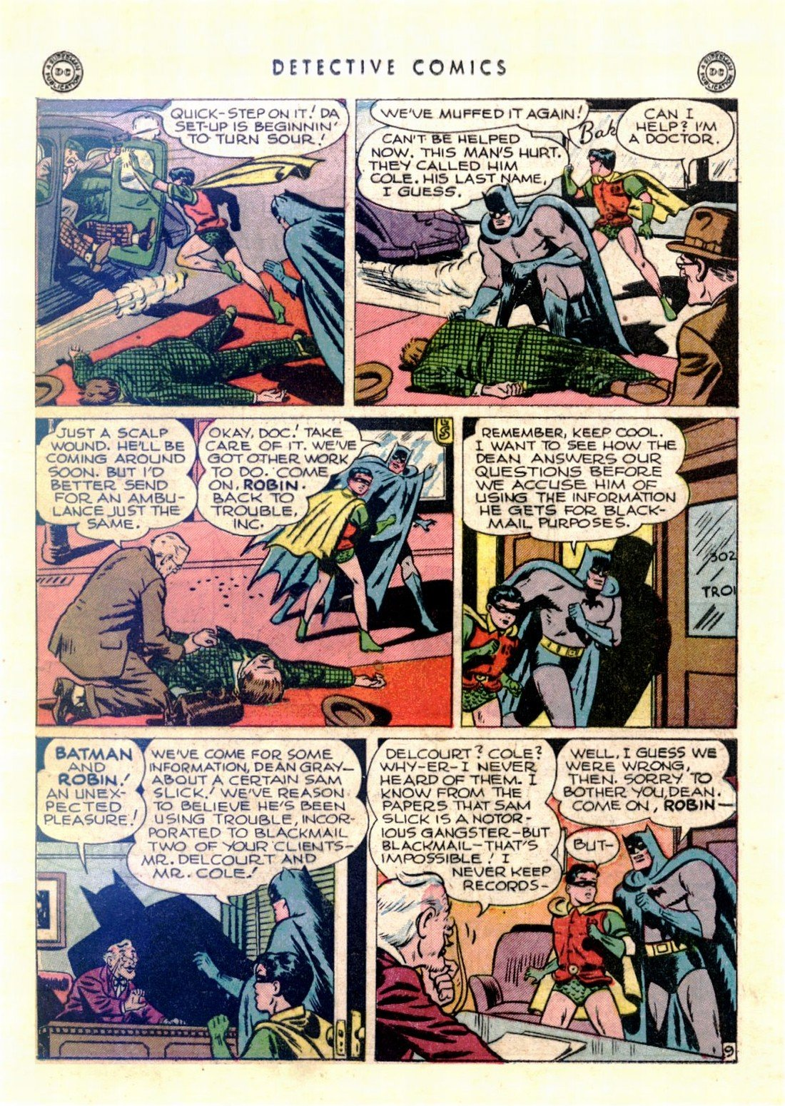Read online Detective Comics (1937) comic -  Issue #103 - 11