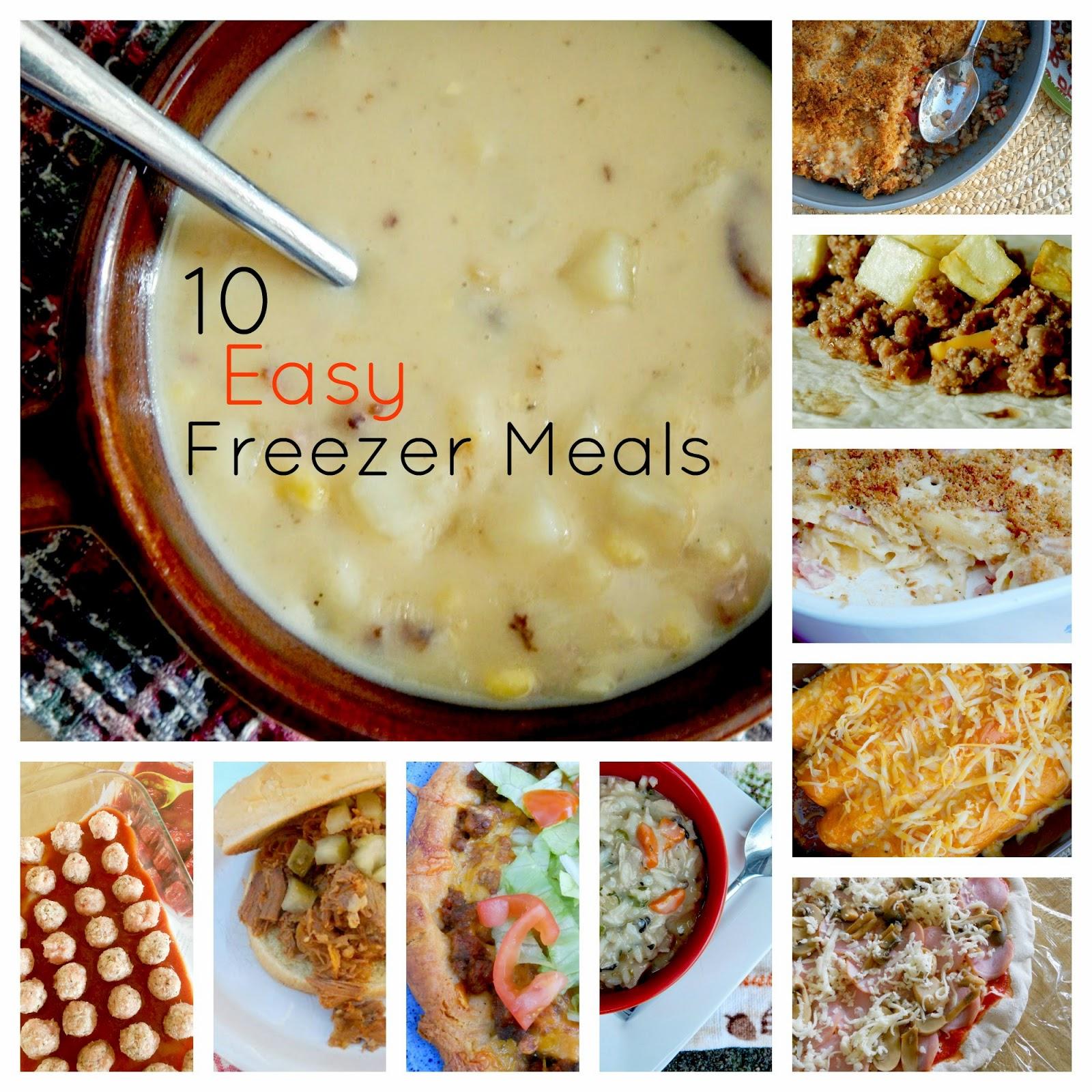 10 easy freezer meals (sweetandsavoryfood.com)