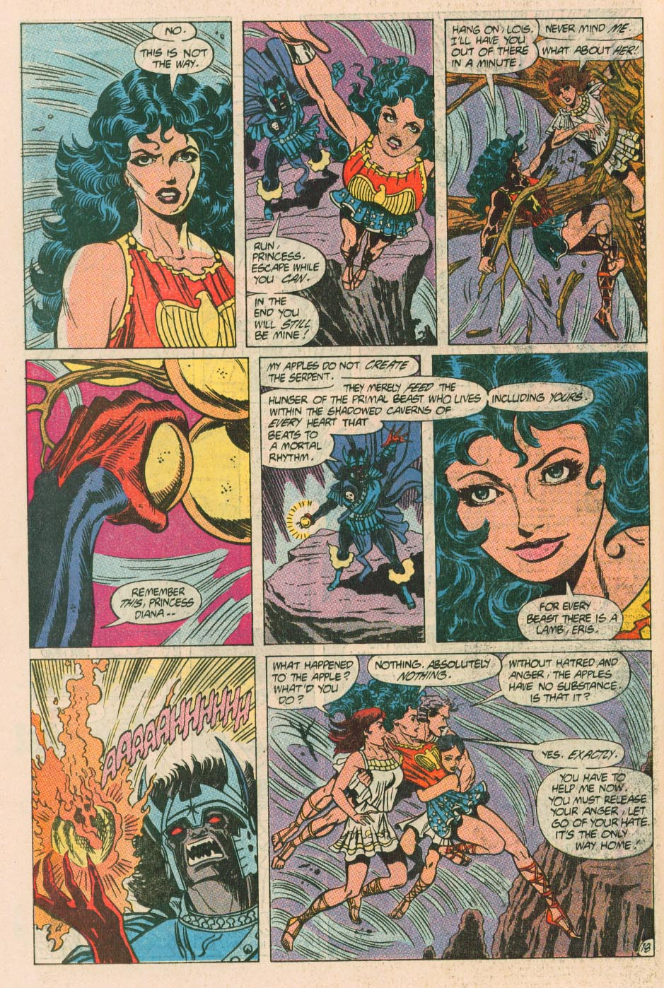 Read online Wonder Woman (1987) comic -  Issue #40 - 20