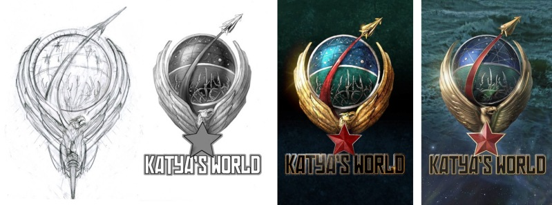 Sequence of the progress of Katya's World