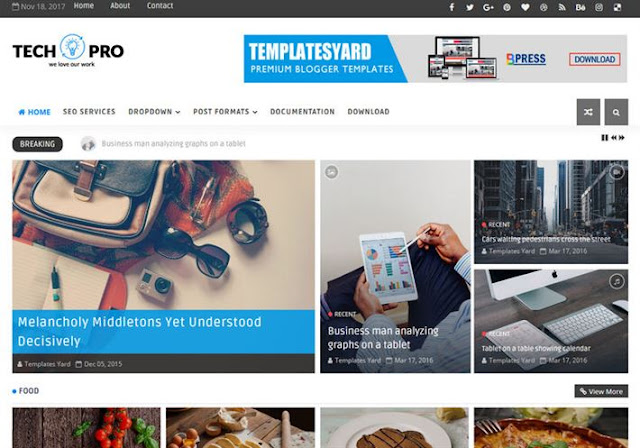 TechPro Blogger Theme