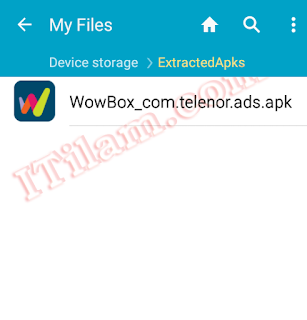 how to create apk file of installed app