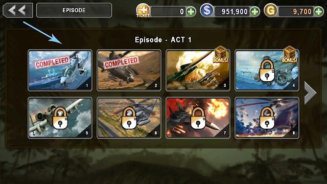 cheat emas gunship battle