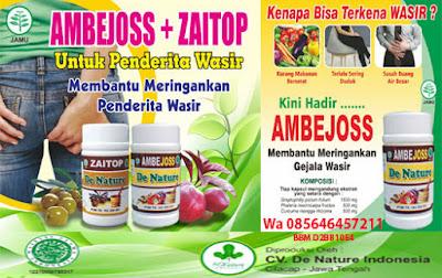 Obat Wasir AMBEJOSS dan ZAITOP Tanpa Bahan Kimia