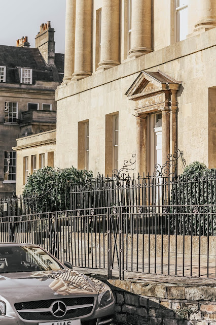 Bath Royal Crescent luxury home exterior