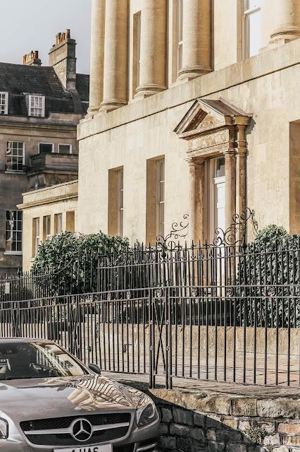 Bath Royal Crescent luxury home exterior