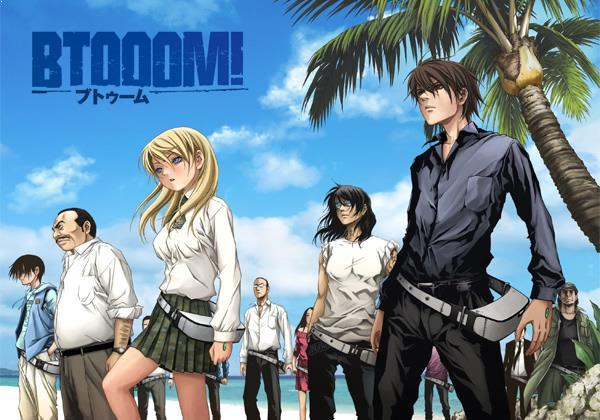Best  Madhouse Anime list - Btooom!