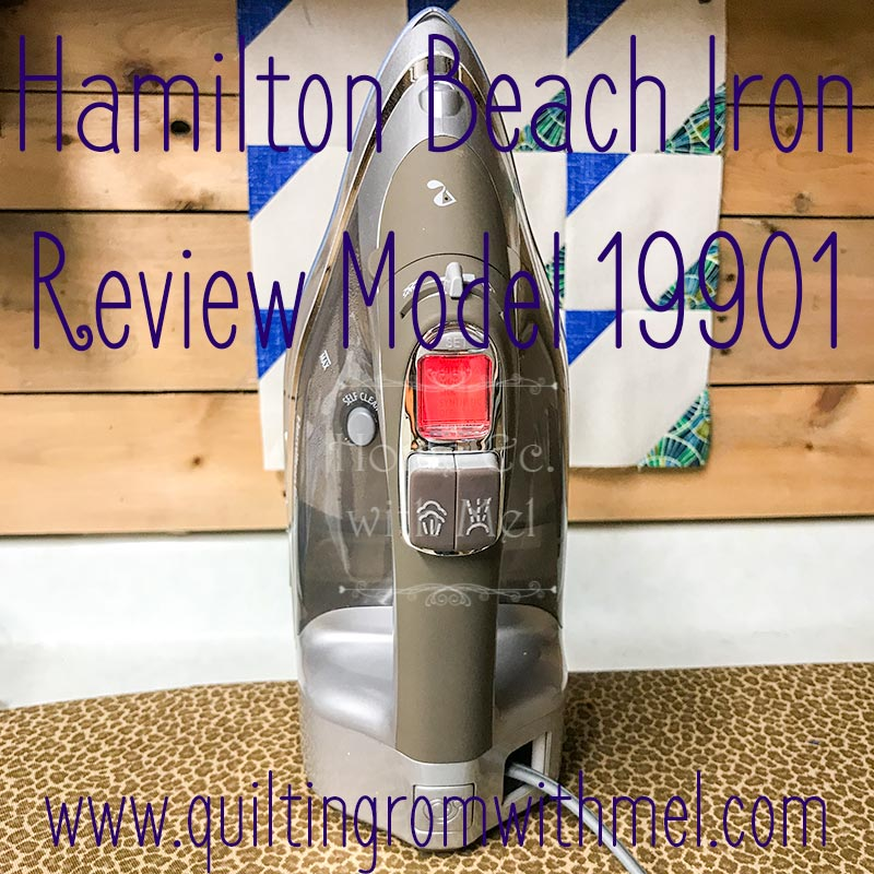A review of Hamilton Beach's Durathon Iron Model 19901
