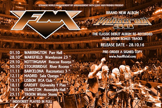 FM Indiscreet 30 new album and tour dates poster