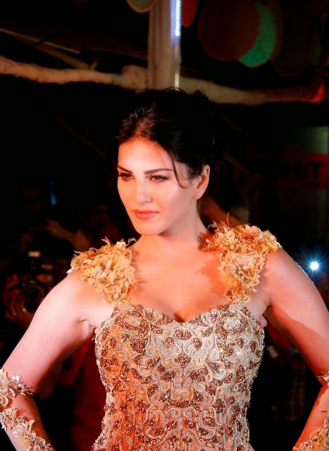 Hot Actress Sunny Leone Showing Her Sexy Pictures