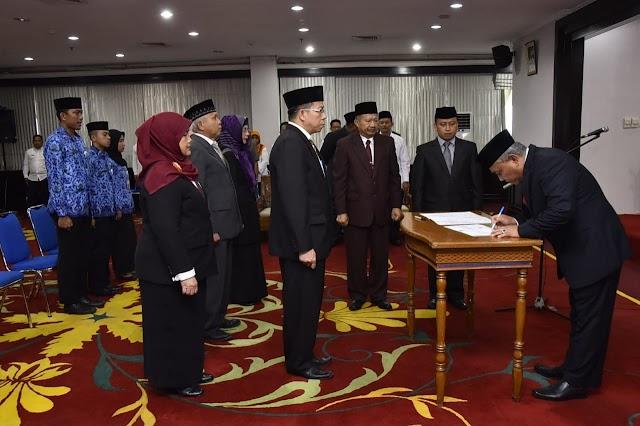 Walikota Mutasi Empat Kepala Dinas