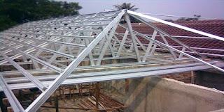 6 Info Kelemahan dan Keunggulan Kerangka Atap Baja Ringan Rumah Anda
