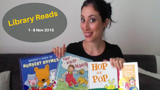 Library Reads: What the Kids Picked this Week 1st-8th Nov 2015  #LibraryReads #books