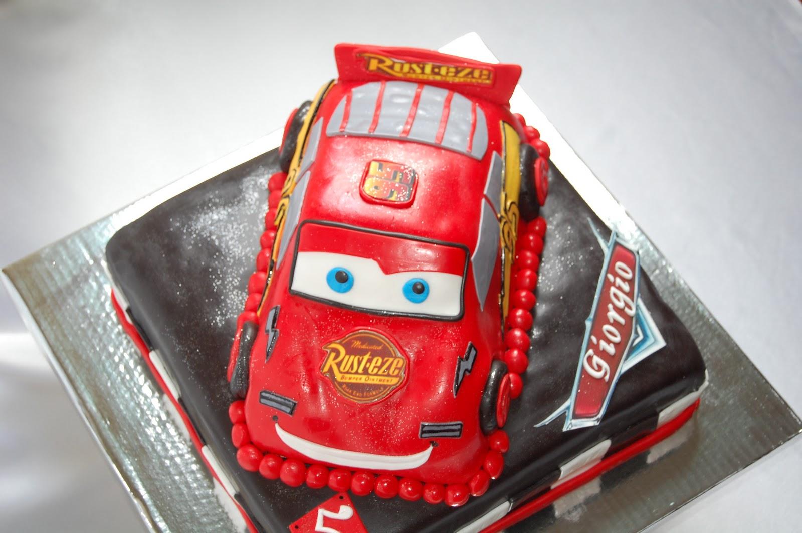 Disney Cars Birthday Cake: CUSTOMISED CAKES BY JEN: Disney Pixar Cars Cake