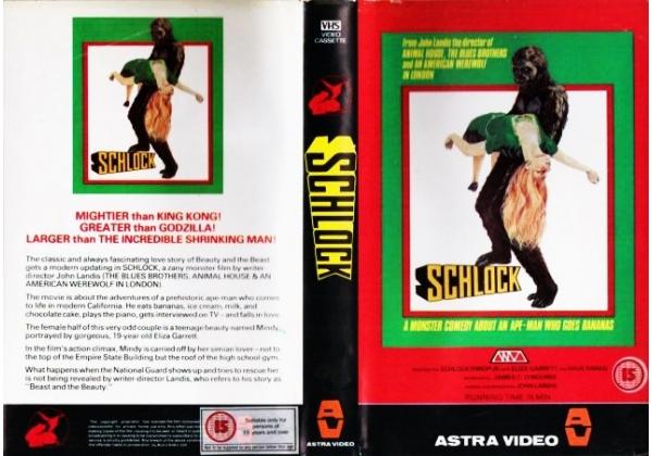 schlock vhs