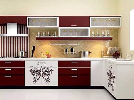 contoh kitchen set minimalis