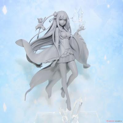 Emilia de Re:Zero (Alpha x Omega)