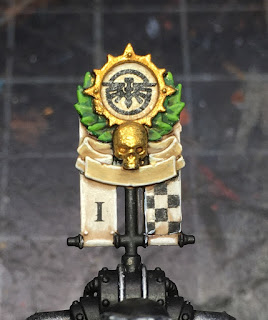 Heresy Era Legion I Dark Angels Vexilla WIP