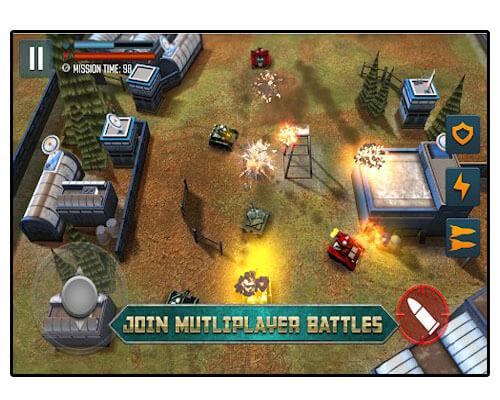 لعبة Tank Battle Heroes World of Shooting