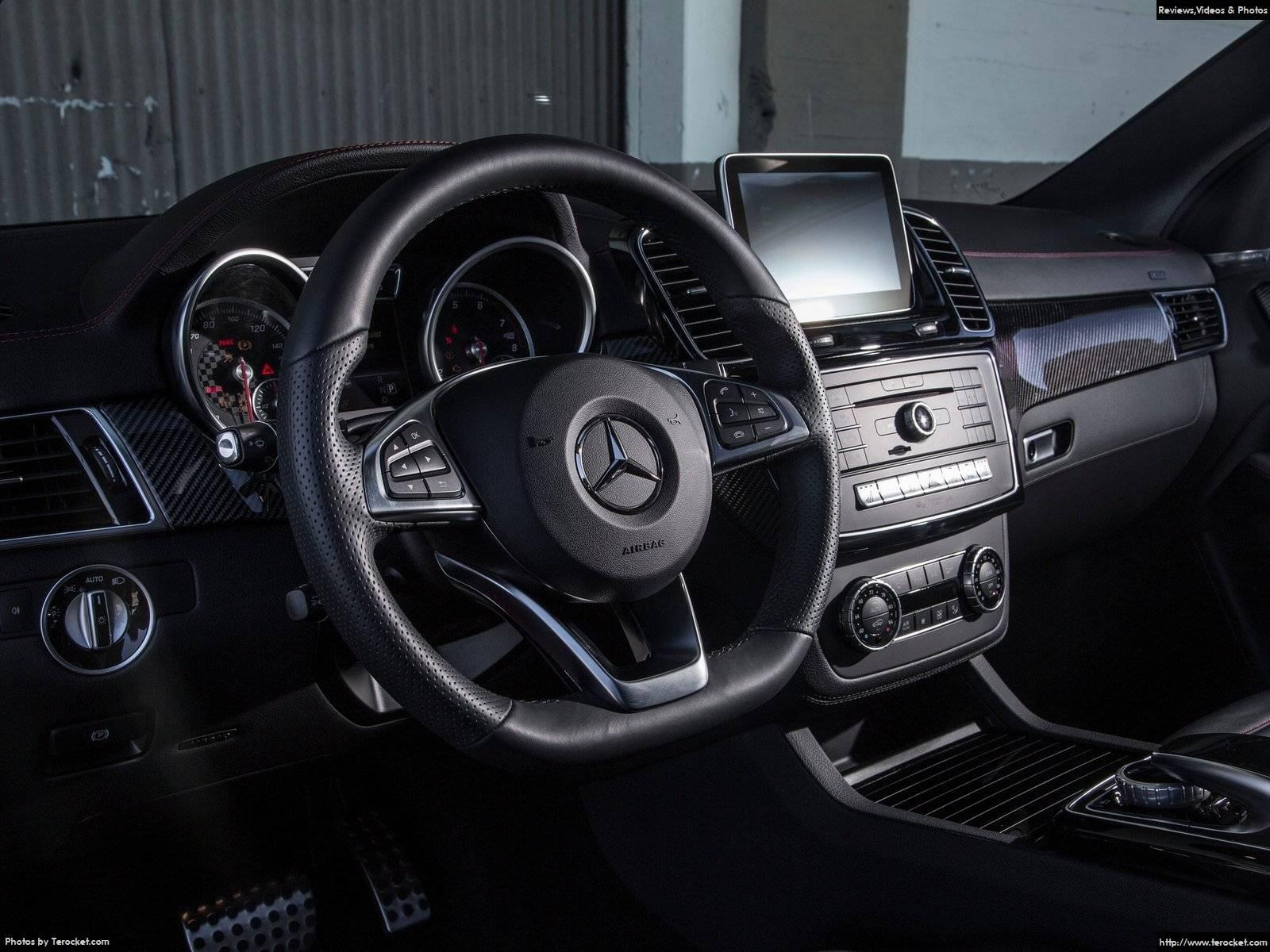 Hình ảnh xe ô tô Mercedes-Benz GLE450 AMG Coupe 2016 & nội ngoại thất