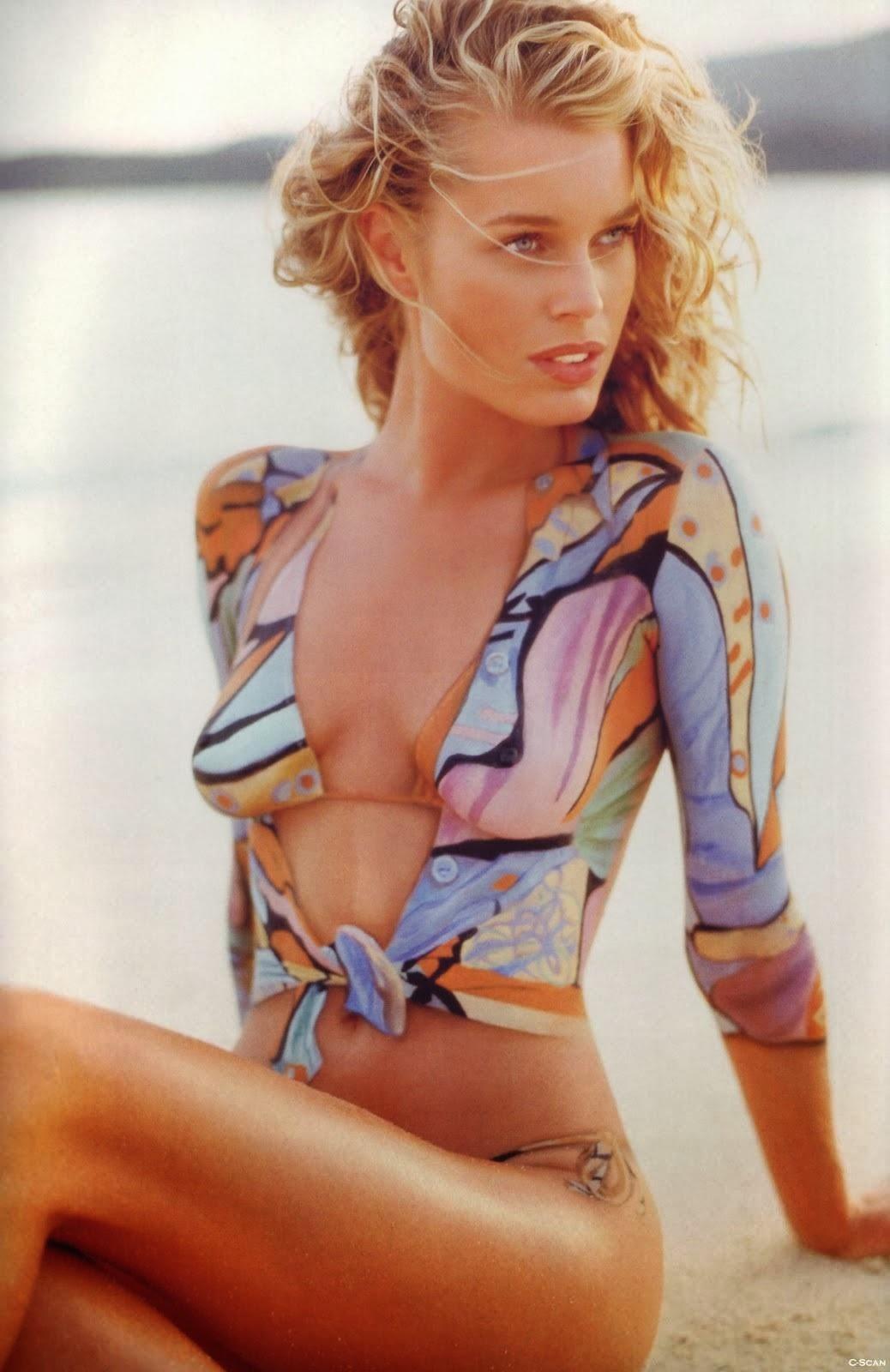Paula Creamer Body Paint