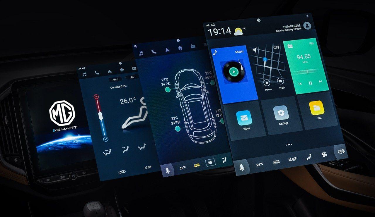 iSMART Next Gen Technology; Technology That Drives MG Hector