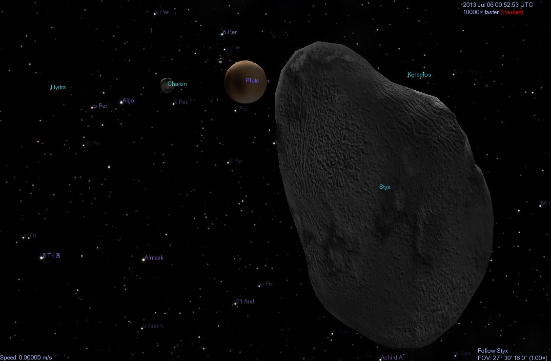 Styx Pluto S Moon: Astroblog: Plutos Newest Moons Named