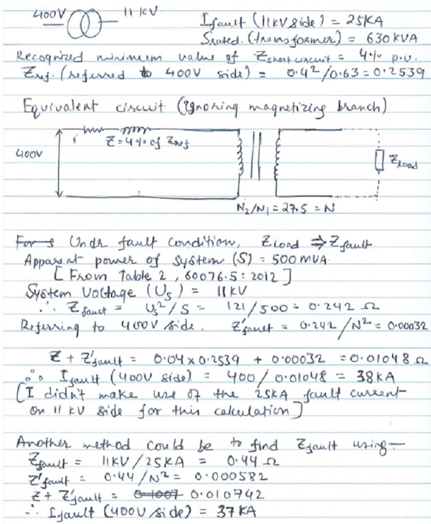Short Circuit Levels Guide To Electrical Engineering