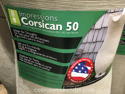 Costco 1029233 - Good Ideas Impressions Corsican 50 Rain Barrel - great for any backyard or garden