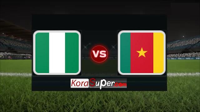 مشاهدة الكاميرون ونيجيريا 06-07-2019