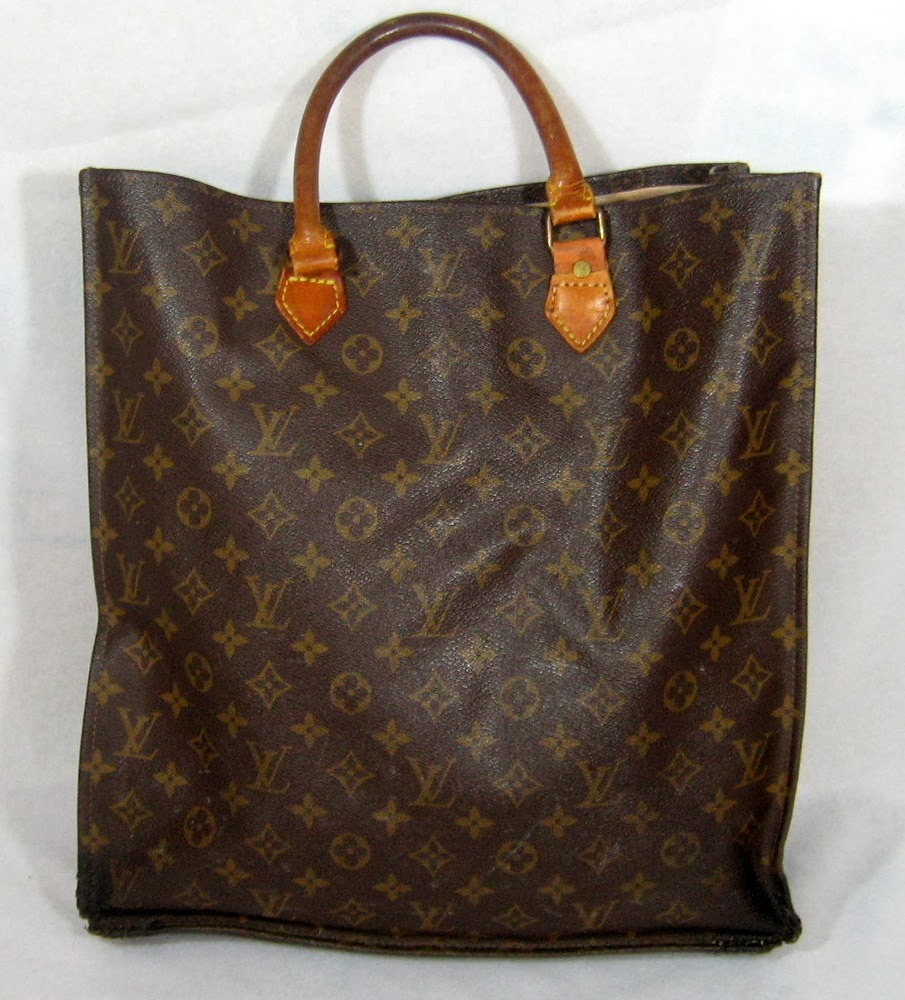 Vintage Sac Plat Louis Vuitton Tote Bag