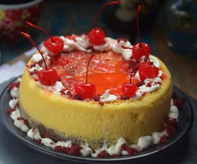 Aneka Resep Red Velvet Cheesecake