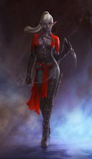 http://gpzang.deviantart.com/art/Dark-Elf-Assassin-Personal-work-437024471