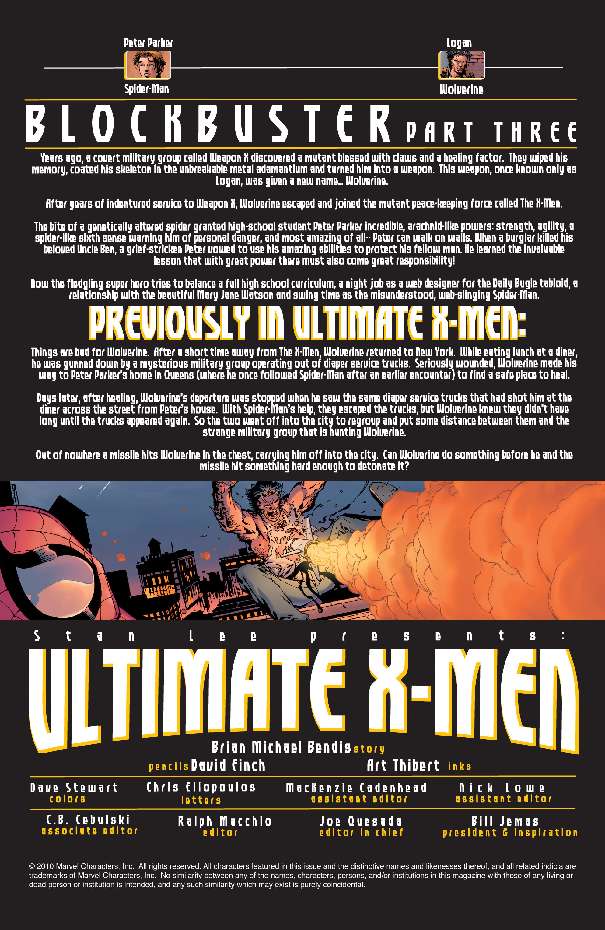 Read online Ultimate X-Men comic -  Issue #36 - 2