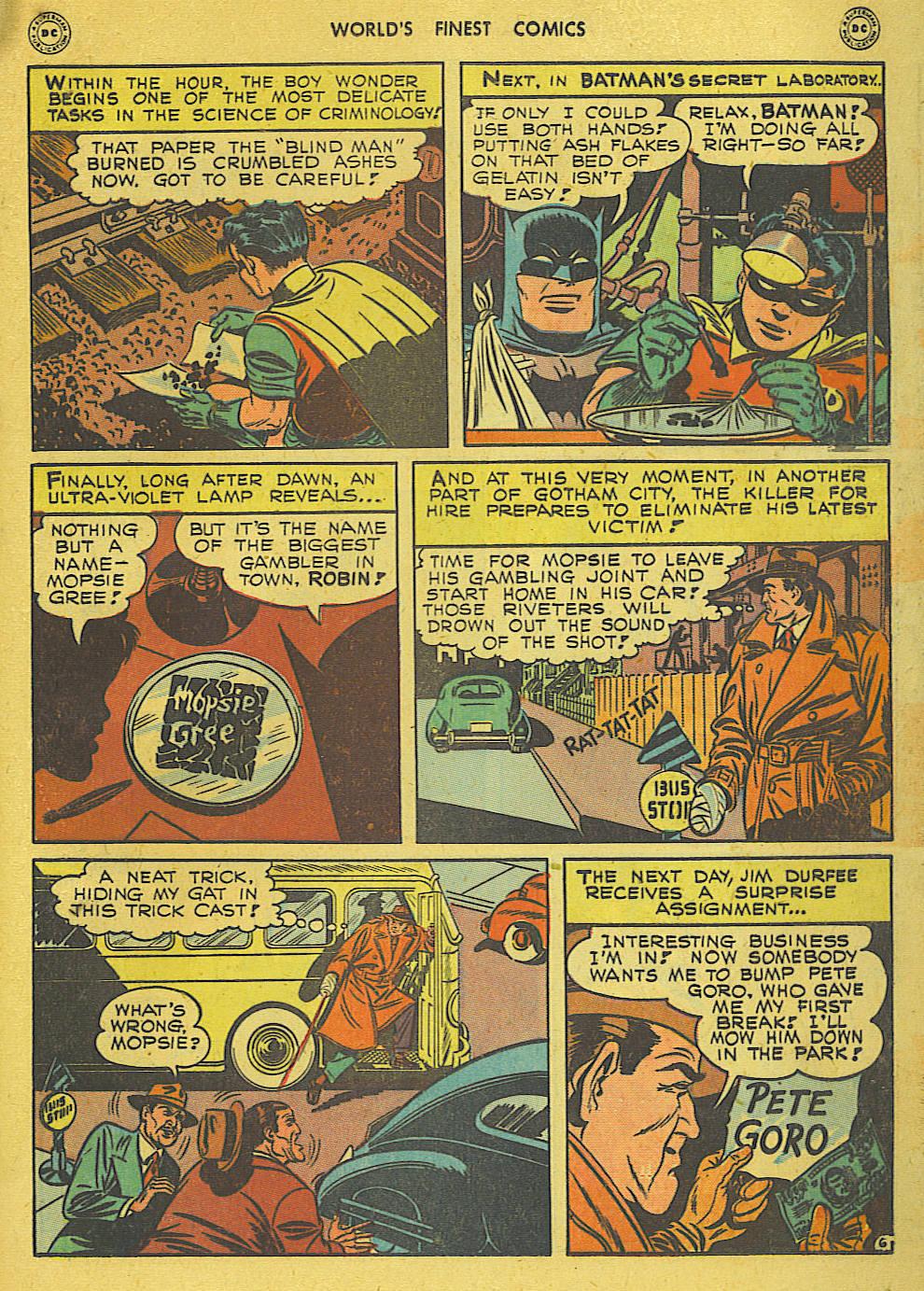 Read online World's Finest Comics comic -  Issue #34 - 67