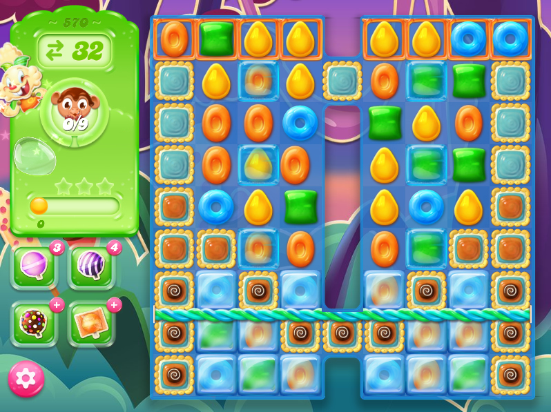 Candy Crush Jelly Saga level 570